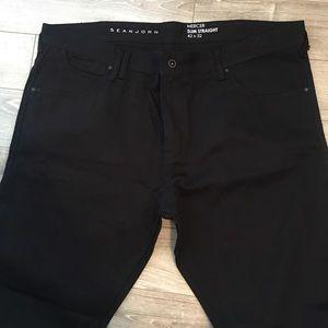 Sean John Mercer slim straight jeans 42 x 32 new
